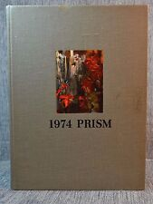 "School Annual / Yearbook ""Prism""  University of Maine Orno 1974"