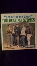 "The Rolling Stones 45 with Picture Cover "" Get Off Of My Cloud"""