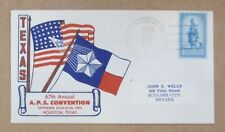 """Cover Texas 1953 """"Aps 67th Annual Convention Houston, Texas See Pic"""