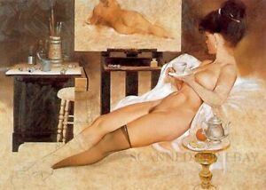 Fritz Willis model nude woman babe female photo girl picture butt legs print P3