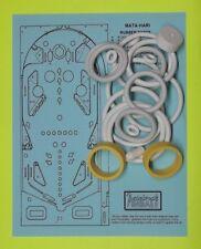 1978 Bally Mata-Hari pinball rubber ring kit