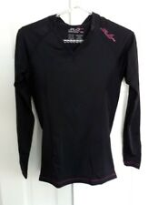 Womens Sub Sports RX Long Sleeve Compression Baselayer    Black stealth Large