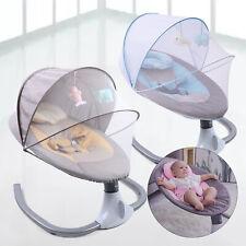 3 Farbe Elektrische Babywippe Babyschaukel Bluetooth USB Musik