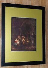 """Incorniciato 12"""" x16"""", REMBRANDT, BIBBIA dipinti, i comandanti dipinti, pastori"""