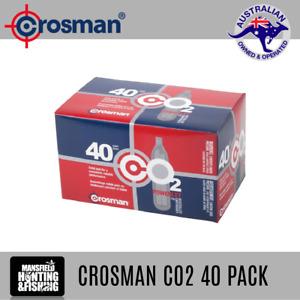 CROSMAN CO2 POWERLET CANISTER 40PK - CROSMAN CO2 CANISTER 40 CARTRIDGE 12G GAS
