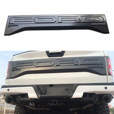 For Ford F150 Raptor 2017 Tail Gate Applique Rear Trim Panel HL3Z-99425A34-AA