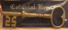 "Skeleton key Colonial Pennsylvania 6"" decorative Early American Penncraft"