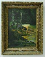 Early 20th Century California Landscape Oil Painting - Arroyo Seco Pasadena