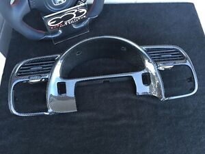 Honda S2000 Carbon Fiber Gauge Cluster Surround Assembly