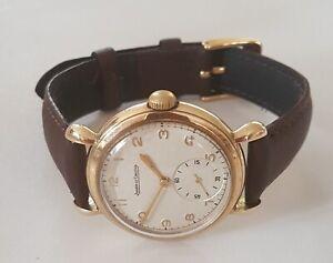 Vintage 9ct Gold JAEGER-LECOULTRE Watch