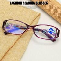 Mens Womens Anti Blue Light Blocking Magnifying Fashion Reading AU Glasses Y9M1