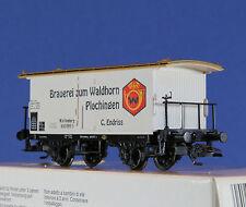 Marklin 48282 Wagon couvert BRAUERIE WALDHORN Württemberg