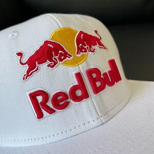 RED BULL ATHLETE ONLY HAT - WHITE - CAP - RARE - MONSTER