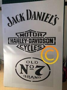 Jack Daniels Stencil
