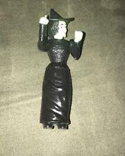 "Vintage Genuine 1988 Mgm / Turner Small 4.5"" (inch) Plastic Bad Witch Figurine"
