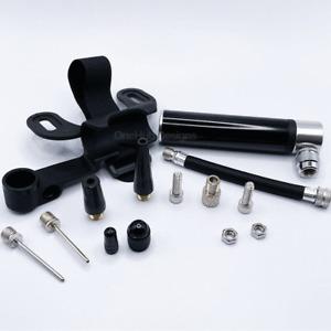 12piece Mini Bike Pump Portable Bicycle Tyre Inflator Hand Schrader Presta Valve