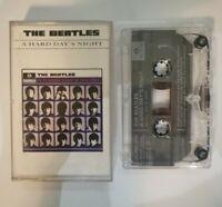 The Beatles: A Hard Days Night - Music Cassette Album - EMI TC-PMC 1230
