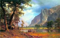 Yosemite Valley PICTURE PRINT CANVAS WALL ART  20X30INCH
