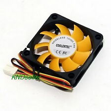 PC Computer Case Cooling Fan Cooler 3Pin 4Pin Silent Low noise 60mm 60x60x15mm