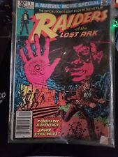 Raiders of the Lost Ark #1 (1981) Marvel Movie Adaption High Grade CGC 9.8 NM/MT
