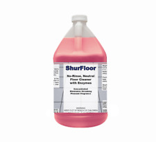 DETCO ShurFloor - No-Rinse, Biodegradable Enzymatic Floor Cleaner Concentrate
