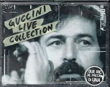 MUSICASSETTA GUCCINI  LIVE COLLECTION   SIGILLATA  MUSICAL CASSETTE NEW SEALED