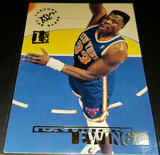 Patrick Ewing 1994-95 Topps Stadium Club 1ST DAY ISSUE Parallel Insert Card no.2
