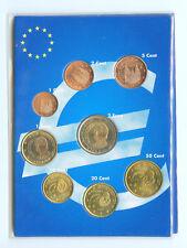 Espagne Série UNC Neuves 8 pièces 2€ à 1 centime 2001