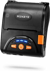 Bluetooth Thermal Wireless Receipt POS Printer MUNBYN 2.0 for Android/Windows