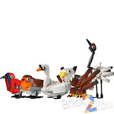 LEGO 5 Birds REPLICA 4002014 HUB Birds - Assembled State, Read Descriptions