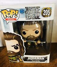 DC Justice League Aquaman Vinyl figure Bobble Head #205 Brand New