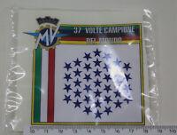 """Adesivo MV AGUSTA 37 volte campione del mondo """"V681"""""""