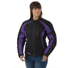 Rayven Focus Ladies CE Armoured Waterproof Motorcycle Jacket-Purple RRP £99.99