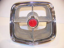 1963 PLYMOUTH STATION WAGON TAIL LIGHT BEZEL OEM #2422696 BELVEDERE FURY