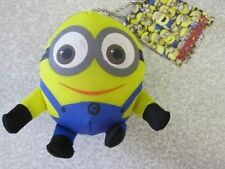 MINION-SOFT-TOY-BAG-HANGER-SOFT-TOY-KEYRING-KEY-CHAIN-TAGGED-GR8-FOR-PARTY