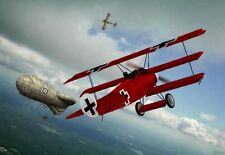 The Red Baron on an English Hunt  War Poster