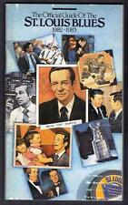 St. Louis Blues 1982-83 media guide