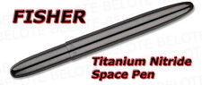 Fisher Titanium Nitride Bullet Space Pen BLACK 400BTN