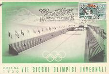 * SPORT INVERNALI - Cortina '56, VII Giochi Olimpici -1