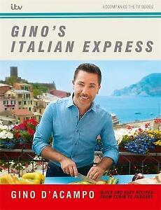 Gino's Italian Express | Gino D'Acampo | Hardcover | Brand NEW