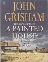 John Grisham A Painted House 3 Cassette Audio Book David Lansbury Crime Thriller