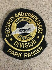 Kentucky Park Ranger Police Patch