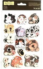 Recollections 3D Themed Stickers CATS and DOGS Kitties Animals K-9 Puppies Pets