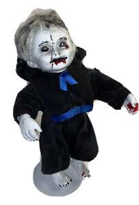 VAMPIRE horror Halloween Prop OOAK Evil Doll Religious Monk Raphael