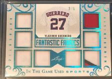 2018 Leaf In The Game Used Vladimir Guerrero 8-way Jersey 3/6