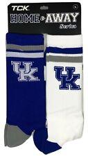 Kentucky Wildcats 2 Pack Home & Away Crew Cut Socks - Large