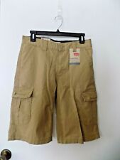 Levi 's Relaxed Fit, Below The Knee, 16 Regular, Harvest Gold, Cargo Shorts NWT