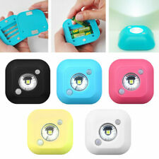 Mini Wireless PIR Motion Sensor Light Control LED Nightlight Cabinet Lamp Home