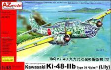 "AZ Models 1/48 KAWASAKI Ki-48-II TYPE 99 SOKEI ""LILY"" Japanese Bomber"