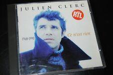 """JULIEN CLERC """"Ce N'Est Rien"""" (1968-1990) CD / EMI - 828366 2 / 1994"""